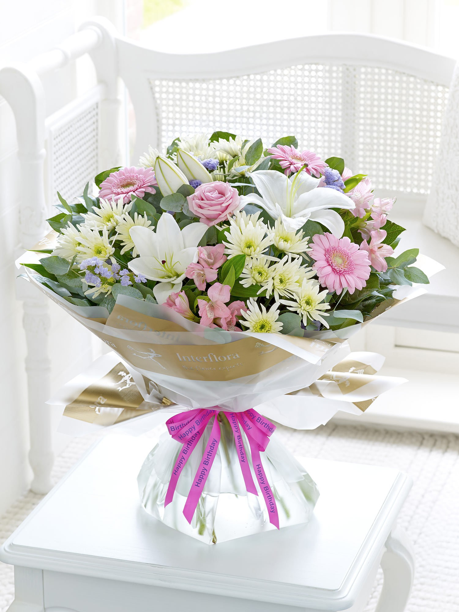 Blooms For Flowers Glasgow First Choice Florist Happy Birthday